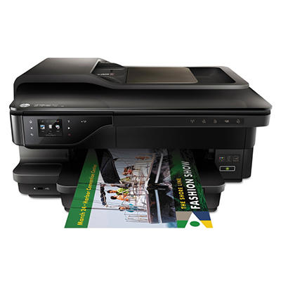 HP - Officejet 7610 Wireless e-All-in-One Inkjet Printer -  Copy/Fax/Print/Scan