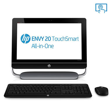 "HP Envy 20-d117c All in One Desktop Computer, Intel� Core? i3-3220, 4GB Memory, 1TB Hard Drive, 20"" Touchscreen"