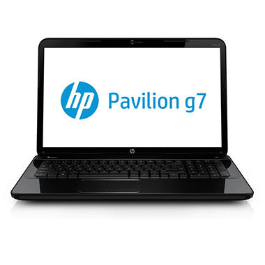 "HP Pavilion g7-2317cl 17.3"" Laptop Computer, AMD Quad-Core A8-4500M, 4GB Memory, 640 GB Hard Drive"