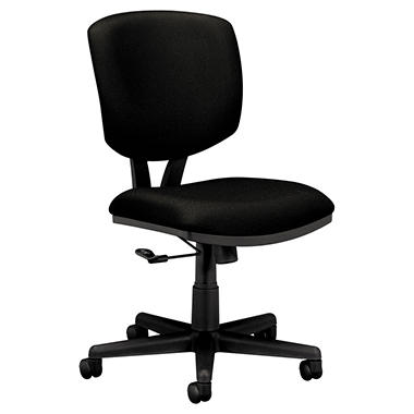 HON Volt Series Fabric Task Chair, Black