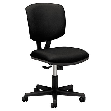 HON - Volt Series Task Chair with Synchro-Tilt - Black Fabric