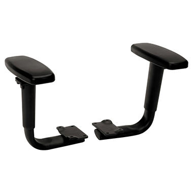 HON - Height-Adjustable T-Arms for Volt Series Task Chairs - Black
