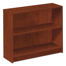 HON - 1870 Series Bookcase - 2 Shelves - Henna Cherry