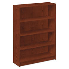 HON - 1870 Series Bookcase - 4 Shelves - Henna Cherry