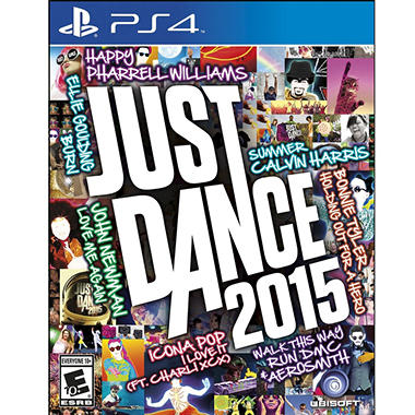 PS4 JUST DANCE 2015 STREET DATE 10/21/14