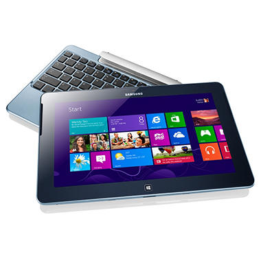 "Samsung ATIV Smart PC 500T 11.6"" Touch Convertible Laptop Computer, Intel® Atom™ Z2760, 2GB Memory, 64 GB Hard Drive"