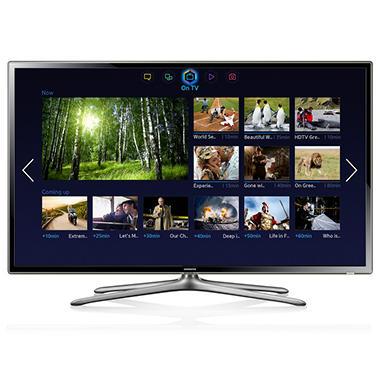 "65"" Samsung LED 1080p CMR 240 Smart HDTV w/ Wi-Fi"