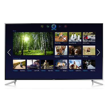 "75"" Samsung LED 1080p 120Hz 3D Smart TV w/ Wi-Fi"