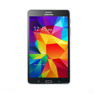 "Samsung Galaxy Tab 4.7"" 8GB - Black with 8GB MicroSD Card"