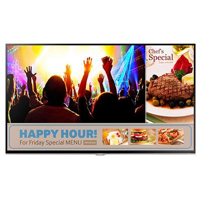 """48"""" Samsung LED 1080p 60Hz Signage Smart TV"""