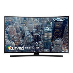 "Samsung 55"" Class Curved 4K Ultra HD LED Smart TV - UN55JU670DFXZA"