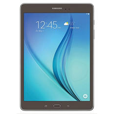 "9.7"" Samsung Galaxy Tab A - 16GB Smoky Titanium w/ Carrying Pouch"