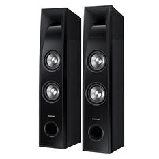 "Samsung 2.2 Channel 350 Watt SoundTower Speakers w/ Built-in 6"" Subwoofer"