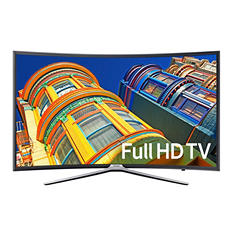 "Samsung 55"" Class Smart LED Curved TV -- UN55K625D"