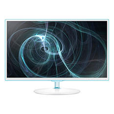 "Samsung Simple LED 23.6"" Monitor with White/Blue ToC Finish"