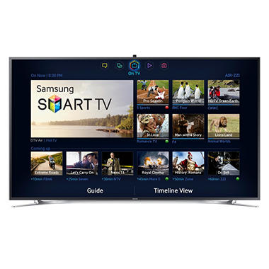 "55"" Samsung 3D LED WiFi 4K Ultra HDTV"