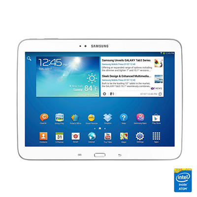 "10.1"" Samsung Galaxy Tab 3 - White or Golden Brown"