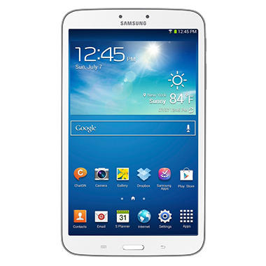 "Samsung Galaxy Tab 3 - 8"" - White or Golden Brown"