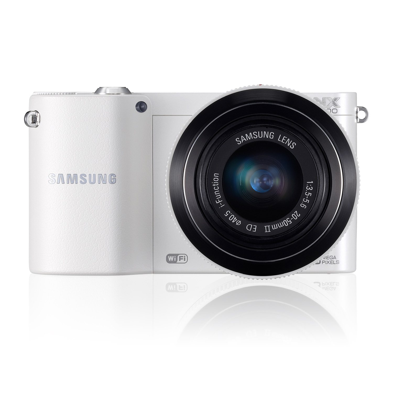 Samsung NX1100 20.3MP Compact Camera & Samsung Galaxy Tab ...