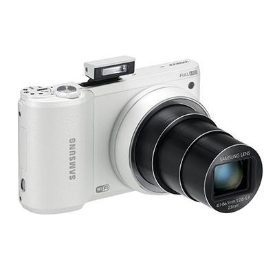 Samsung WB800F Smart Wi-Fi Camera Bundle with 8GB SD Card and Camera Case