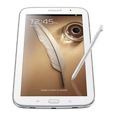 "Samsung Galaxy Note 8"" 16GB Tablet - White"