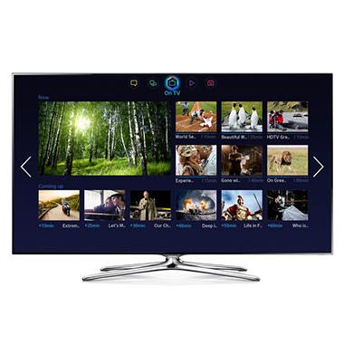 "55"" Samsung LED 1080p 3D Smart HDTV"