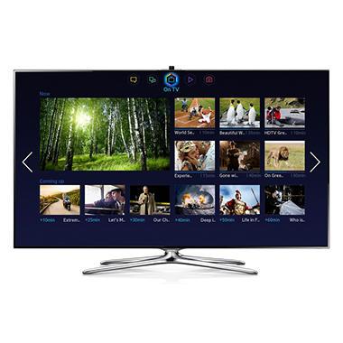 "55"" Samsung LED 1080p CMR 960 3D Smart HDTV w/ Wi-Fi"