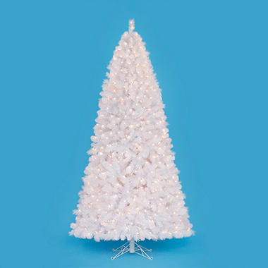 7.5' Kingwood Spruce Pre-lit Quick Set� White Tree