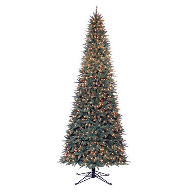 12' Sanford Fir Pre-lit Slim Quick Set�Tree