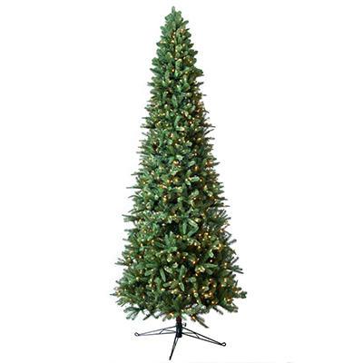 Member's Mark 12' Pre-Lit Fraser Fir Slim Christmas Tree