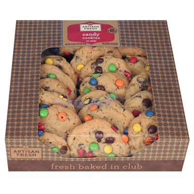 Artisan Fresh Candy Cookies - 336 ct. 21 lbs.