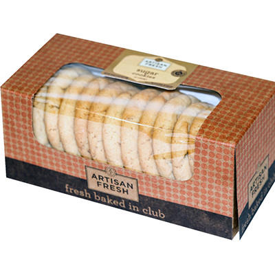 Artisan Fresh Sugar Cookies - Case 144 ct.