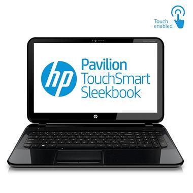 "HP Pavilion 15-b107cl 15.6"" TouchSmart Laptop Computer, AMD A8-4555M, 8GB Memory, 640GB Hard Drive"