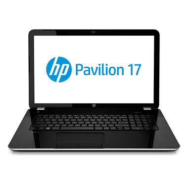 "HP Pavilion 17-e137cl 17.3"" Laptop Computer, AMD A8-5550M, 6GB Memory, 750GB Hard Drive"