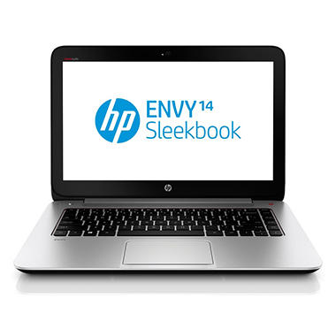"HP ENVY 14-k027cl 14"" Laptop Computer with 4G, Intel Core i5-4200U, 8GB Memory, 750GB Hard Drive"