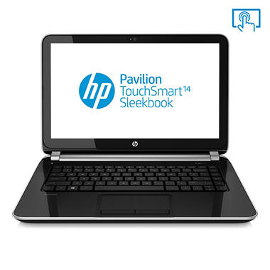 "HP Pavilion 14-f027cl 14"" Touch Laptop Computer, AMD A8-5545M, 6GB Memory, 640GB Hard Drive"
