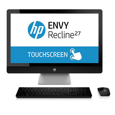 "HP ENVY Recline 27-k037c 27"" TouchSmart Desktop Computer, Intel Core i7-4765T, 8GB Memory, 1TB Hard Drive"