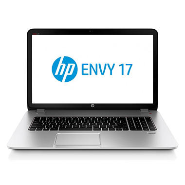 "HP ENVY 17-J037CL 17.3"" Touch Laptop Computer, Intel Core i7-4700MQ, 8GB Memory, 1TB Hard Drive"
