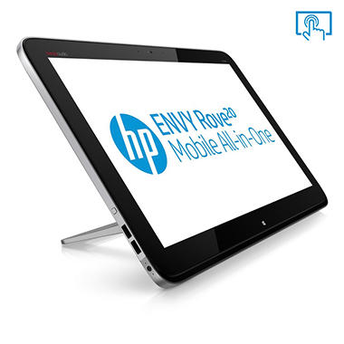 "HP ENVY Rove 20-k120 20"" Touchscreen Desktop Computer, Intel Core i3-4010U, 4GB Memory, 750GB Hard Drive"