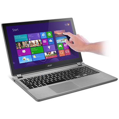 "Acer V5-552P-X440/X637 15.6"" Touch Laptop Computer, AMD A10-5757M, 8GB Memory, 1TB Hard Drive"