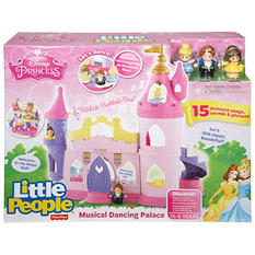 Fisher-Price Little People Disney Princess Musical Dancing Palace