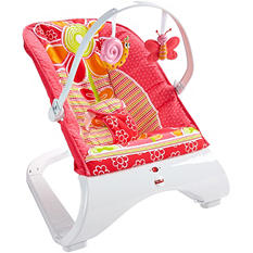 Fisher Price Comfort Curve Bouncer, Floral Confetti