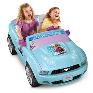 Power Wheels Disney 12V Frozen Ford Mustang
