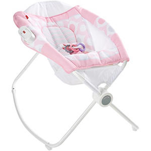 Fisher Price Newborn Rock 'n Play Sleeper, Pink Ellipse