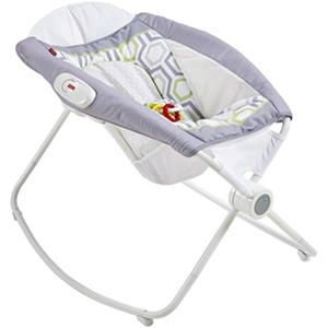 Fisher Price Newborn Rock 'n Play Sleeper, Geo Meadow
