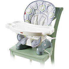 Fisher Price SpaceSaver High Chair, Geo Meadow