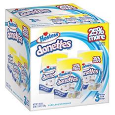 Hostess Powdered Sugar Donut (3 bag pack)