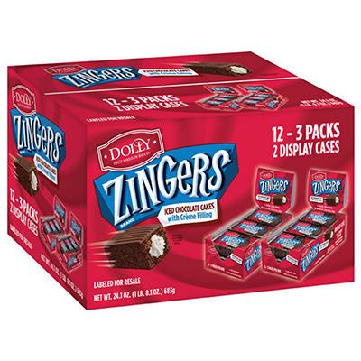 Dolly Chocolate Zinger (18 cakes)