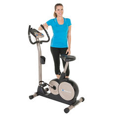 EXERPEUTIC 3000 Magnetic Upright Bike with Programmable Computer and Bluetooth Technology