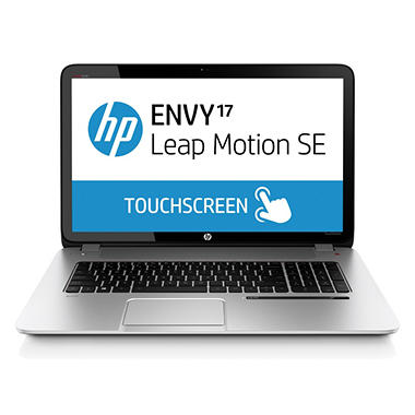HP ENVY 17-j157cl Touch Laptop Computer, Intel Core i7-4702QM, 12GB Memory, 1TB Hard Drive with Leap Motion